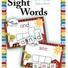 Sight Words - Build a Word (Pre-Primer Words)  40 Word Building Mats for Pre-Primer Sight Words. This set displays a cute farm scene.  Please downl...