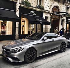 S63 AMG Coupe, in grey matte jetzt neu! ->. . . . . der Blog für den Gentleman.viele interessante Beiträge  - www.thegentlemanclub.de/blog
