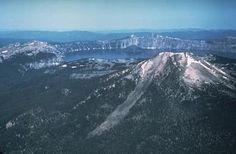 Mt Mazama (aka Crater Lake), Oregon, USA