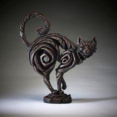 металлический кот Скульптура Мэтта Бакли