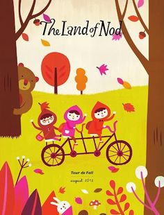 Land of Nod cover by Hsinping (via Lilla Rogers) CUTE & FUN GRAPHiCS