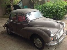 Morris Minor 1000, 1967, 4 Door, Grey With Red Leather, Only 49'000 Miles - http://classiccarsunder1000.com/?p=89906