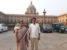 Travelicious Holiday's Guests at Rastrapati Bhawan in Delhi