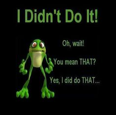 I dont do it funny quotes cute quote lol funny quote funny quotes Funny Frogs, Cute Frogs, Frog Pictures, Funny Pictures, Frog Pics, Funny Pics, Funny Cartoons, Funny Memes, Frog Quotes
