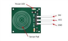 Czujnik dotykowy pojedyńczy - Touch sensor do Arduino - ARDUINO - maGeek -Gadżety dla każdego. Zawsze znajdziesz coś dla siebie.