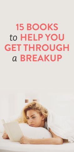 15 books to help you get through a breakup