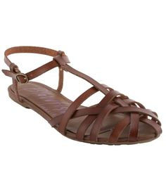 Roobie is a chic sandal for your casual days this spring. Stay sassy in this strappy silhouette that features an adjustable buckle ankle strap for great fit and a slightly cushioned foot-bed for comfort! Pair this with your favorite dress, skirt, shorts, or skinny jeans! The options are endless with the Blowfish Shoes Roobie!