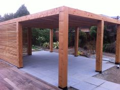 Timber pergola. dwg.co.nz