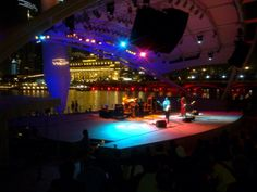 Lovely surprise by arriving Singapore live music awesome stuff
