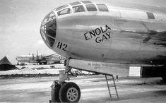 Enola Gay B-29 1945 - El responsable del lanzamiento de las bombas atómicas  de