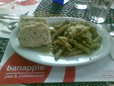Pasta Verde. A must try from Banapple Pies and Cheesecakes