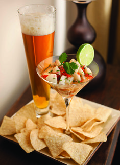 Lime & Pilsner Scallop Ceviche