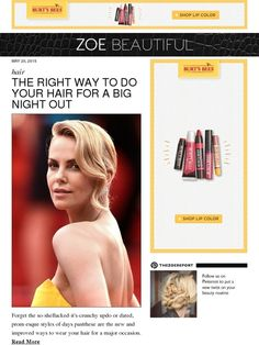 The Right Way To Do Your Hair For A Big Night Out - Rachel Zoe
