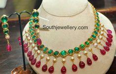 emerald ruby choker