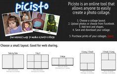 Picisto, crea online divertidos collages con tus fotografías