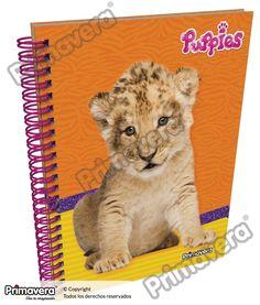 Cuaderno Pasta Dura Puppies http://escolar.papelesprimavera.com/product/cuaderno-pasta-dura-puppies-primavera/