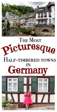 Germany's most beautiful half-timbered towns - California Globetrotter