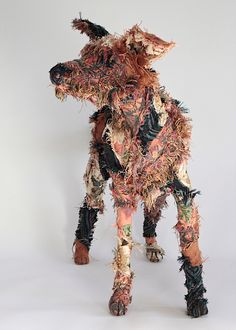 The 'Haberdasher's Dog' is 55cm H x 78cm L x 24cm W