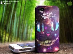 We're All Made Here Galaxy Cat Design For iPhone 5 / by SidePucket, $14.89