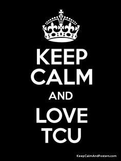 GO TCU...So ready for college Football!!