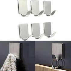 AS/_ Cabinet Hanger Over Door Kitchen Towel Holder Drawer Hook Storage CMCA Eyefu