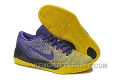 Buy Great Nike Kobe 9 2014 Low Weave Yellow Purple Mens Shoes Outlet On Sale from Reliable Great Nike Kobe 9 2014 Low Weave Yellow Purple Mens Shoes Outlet On Sale suppliers.Find Quality Great Nike Kobe 9 2014 Low Weave Yellow Purple Mens Shoes Outlet On Basketball Shoes Kobe, Kobe Shoes, New Jordans Shoes, Basketball Tips, Basketball Court, Kobe 9, Discount Nike Shoes, Nike Shoes For Sale, Nike Flyknit