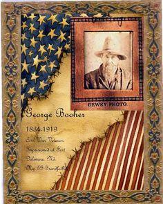 George Besher...Civil War layout