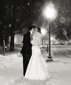 just love the outdoor evening snowy pics