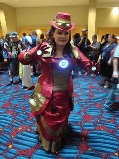Steampunk Iron Woman
