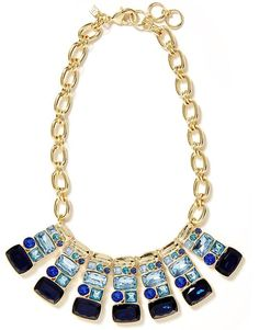 pretty #blue statement necklace http://rstyle.me/n/gzi3dr9te