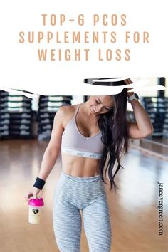 Learn what supplement are the best for losing weight with PCOS or insulin resistance. My top list! #pcosweightloss #pcossupplements #pcosdiet