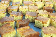 """Cornbread - no B&M Catering menu would be complete without our famous homemade cornbread. This is the perfect """"bring along"""" menu for family get-togethers, tailgate parties, office luncheons or pot-luck parties. Catering Menu, Catering Companies, Memorial Day Foods, Tailgate Parties, Graduation Party Foods, Homemade Cornbread, Pig Roast, Hawaiian Luau, Barbecue Chicken"""