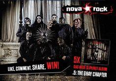 """Aufgepasst, ab heute ist das brandneue Slipknot Album """".5: The Gray Chapter"""" beim Plattendealer deines Vertrauens erhältlich! Wer würde sich über ein Exemplar freuen? LIKE it, COMMENT it, WIN it!"""