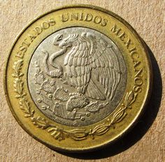 Mexican Coins Worth | UNIDOS MEXICANOS which essentially means UNITED STATES of MEXICO ...