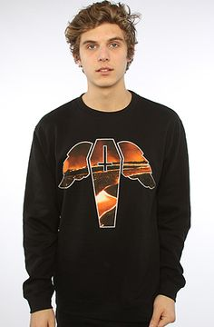 The Lava Crewneck Sweatshirt by Flying Coffin