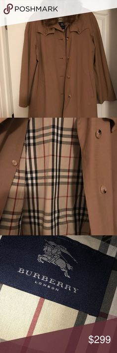 Burberry trench coat Preowned but very good condition Burberry Jackets & Coats Trench Coats