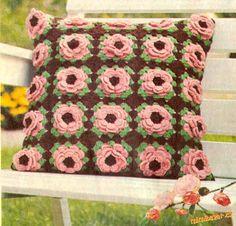 Růžičkový polštář
