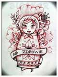 Babushka doll tattoo idea