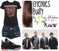"""shinedown3"" by onedirection-emblem3 ❤ liked on Polyvore"