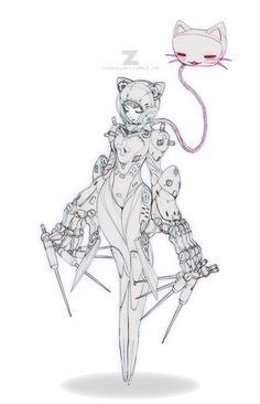 Tilda - Space Medic by Paul Kwon Female Character Design, Character Design References, Character Design Inspiration, Character Concept, Character Art, Concept Art, Illustrations, Illustration Art, Reference Manga