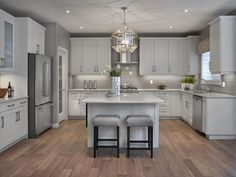 1000 Ideas About Grey Kitchens On Pinterest Gray Kitchens