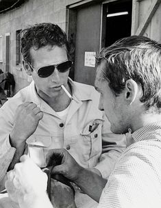 paul newman & dennis hopper