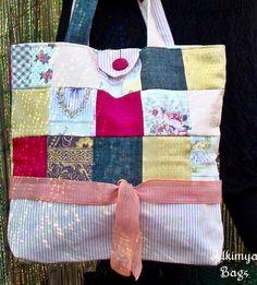 Borsa+patchwork+con+fiocco+di+Alkimya+Bags&Jewelry+su+DaWanda.com
