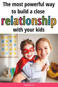 Connecting with kids is the most powerful way to build a strong parent-child relationship. Here is why connection is so powerful and how to build a close connection with your kids. - Activities to connect with kids Parenting Toddlers, Kids And Parenting, Parenting Hacks, Peaceful Parenting, Gentle Parenting, Positive Parenting Solutions, Sibling Relationships, Strong Family, Thing 1