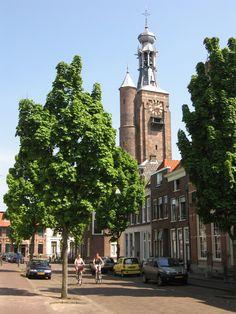 Zaltbommel, Gelderland. Gasthuistoren van Beiaardier Leenhoff