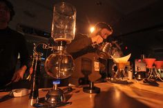 """#siphon #immersion  TEDActive gets a buzz from """"slow"""" coffee 