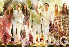 D&G Spring / Summer 2011 Ad Campaign   | New York Fashion