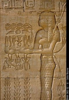 Amazing ancient carvings at the Temple of Hathor, Dendera, Egypt.