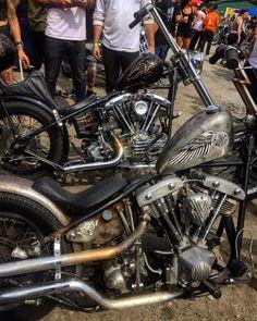 Shovel love at hard times Harley Davidson Engines, Harley Davidson Chopper, Harley Davidson Motorcycles, Bobber Bikes, Cool Motorcycles, Indian Motorcycles, Custom Bobber, Custom Harleys, Custom Bikes