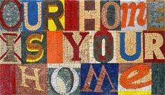mi casa es su casa: Our home is your home - customized Sign